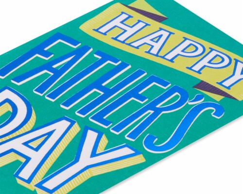 American Greetings #65 Father's Day Card (Best Day Ever) Perspective: top