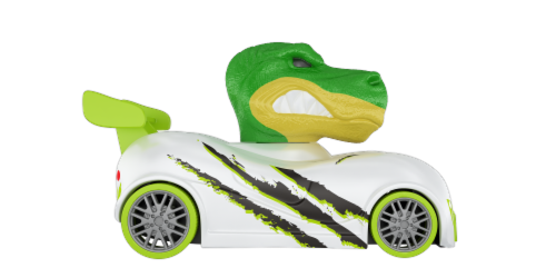 Knuckle-Headz Dinosaur Perspective: top