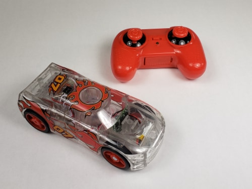 Remote Control Marble Racer - Red Perspective: top