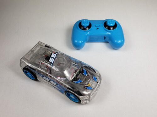Remote Control Marble Racer - Blue Perspective: top