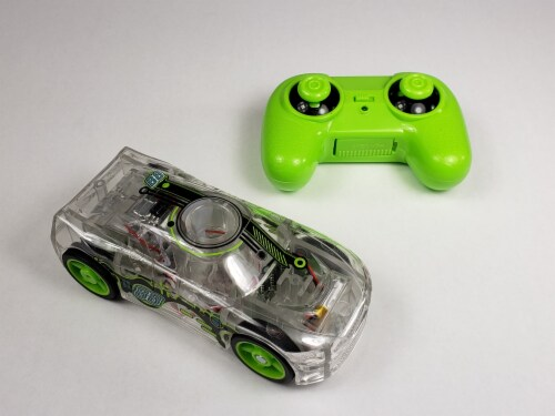 Remote Control Marble Racer - Green Perspective: top