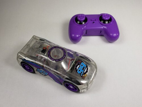 Remote Control Marble Racer - Purple Perspective: top