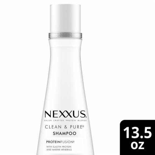 Nexxus® Silicone & Paraben-Free Clean & Pure Nourishing Shampoo Perspective: top
