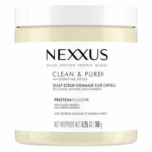 Nexxus® Sulfate-Free Exfoliating & Nourishing Detox Hair Treatment Scalp Scrub Perspective: top
