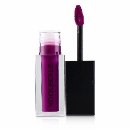Smashbox Always On Liquid Lipstick  Throwback Jam (Vibrant Raspberry) 4ml/0.13oz Perspective: top