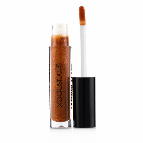 Smashbox Gloss Angeles Lip Gloss  # Michelada (Rust Shimmer With MultiTonal Pearl) 4ml/0.13oz Perspective: top