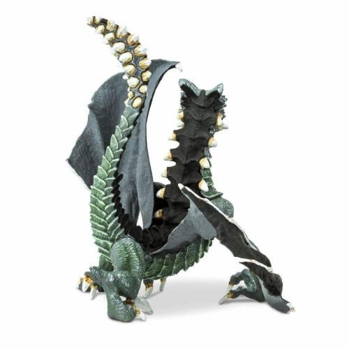 Safari 10166 Sinister Dragon Figurine, Multi Color Perspective: top