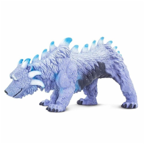 Arctic Dragon Toy Perspective: top