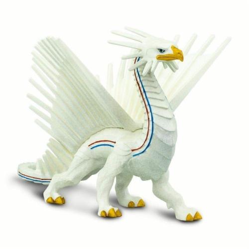 Safari 100252 Freedom Dragon Figurine, Multi Color Perspective: top