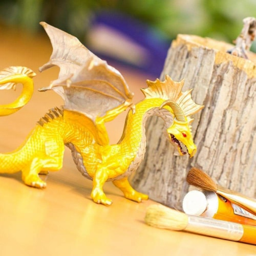 Golden Dragon Toy Perspective: top