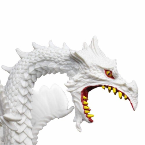 Glow-in-the-Dark Snow Dragon Toy Perspective: top