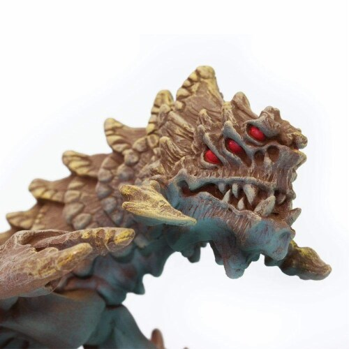 Desert Dragon Toy Perspective: top