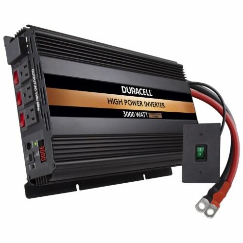 Duracell 3000 Watt High Power Inverter Perspective: top