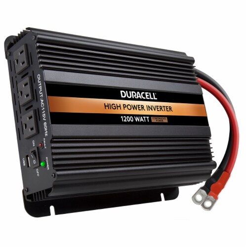 Duracell High Power Inverter Perspective: top