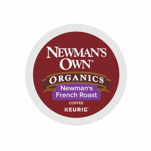 Newman's Own Organic French Roast K-Cup Pods Perspective: top