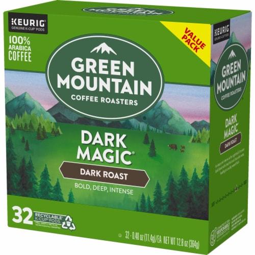 Green Mountain Coffee Dark Magic Dark Roast K-Cup Pods Perspective: top