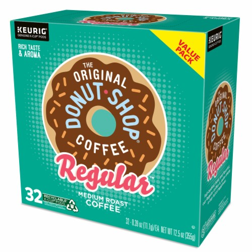 The Original Donut Shop Coffee Regular K-Cups Medium Roast Perspective: top