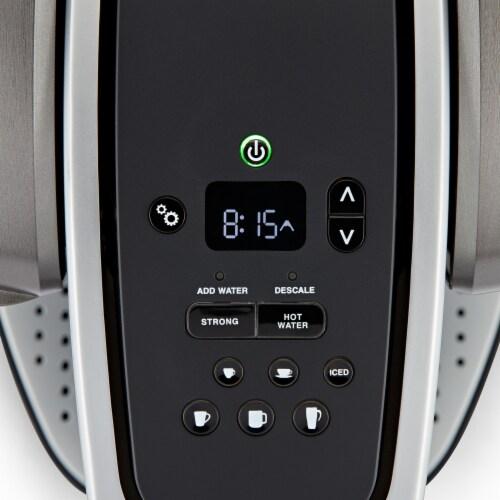 Keurig® K-Elite™ Single-Serve K-Cup® Pod Coffee Maker - Brushed Slate Perspective: top