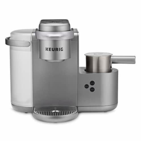 Keurig® K-Café Single Serve Coffee Latte and Cappuccino Maker - Nickel Perspective: top