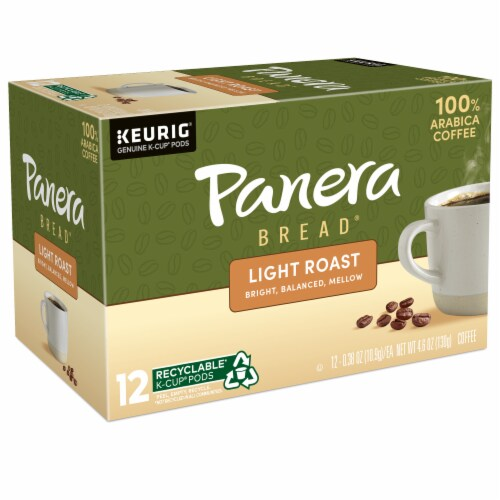 Panera Bread® at Home Light Roast Coffee K-Cup Pods Perspective: top