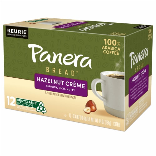 Panera Bread® at Home Hazelnut Creme Coffee K-Cup Pods Perspective: top