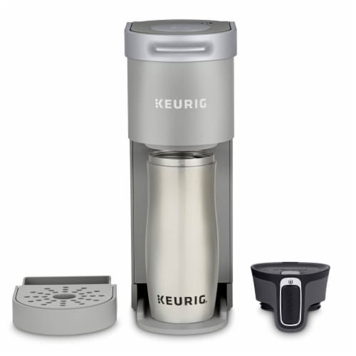 Keurig® K-Mini™ Studio Gray Single Serve Coffee Maker Perspective: top