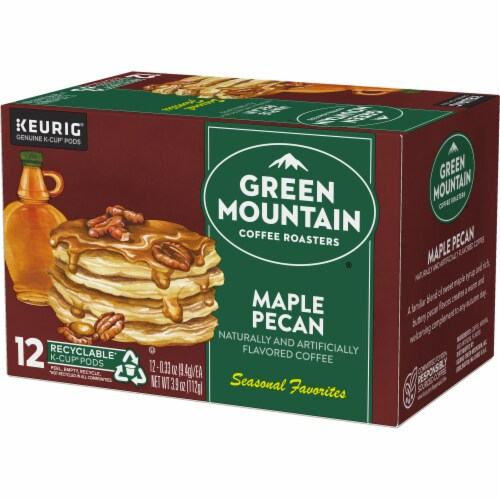 Green Mountain Coffee Limited Edition Maple Pecan Coffee K-Cup Pods Perspective: top