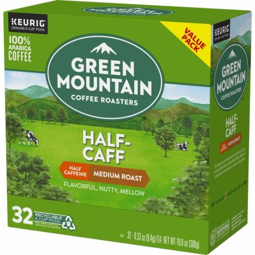 Green Mountain Coffee® Half-Caff Medium Roast Coffee K-Cup Pods Perspective: top
