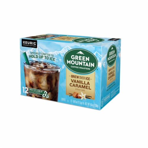 Green Mountain Coffee Roasters Brew Over Ice K-Cup Pods Perspective: top