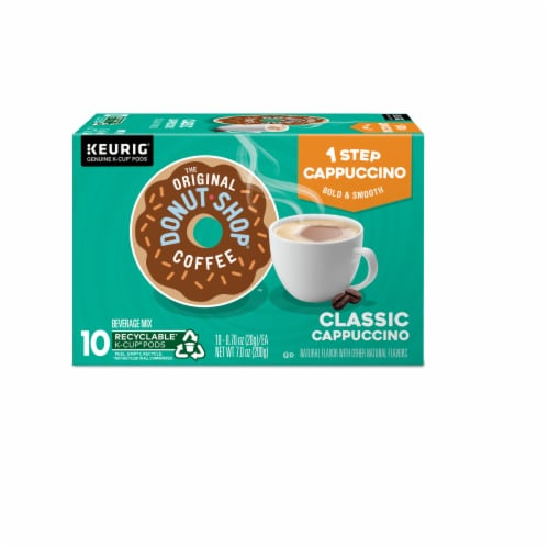 The Original Donut Shop One Step Classic Cappucino K-Cup Pods Perspective: top