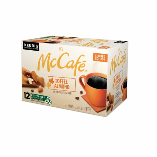 McCafe® Toffee Nut K-Cup Pods Perspective: top
