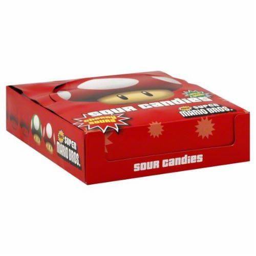Super Mario Sour Candies Perspective: top