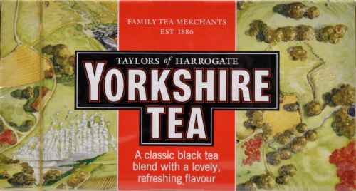 Yorkshire Tea Perspective: top