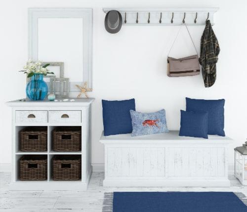 Carolines Treasures  8231PW1216 Crawfish   Canvas Fabric Decorative Pillow Perspective: top