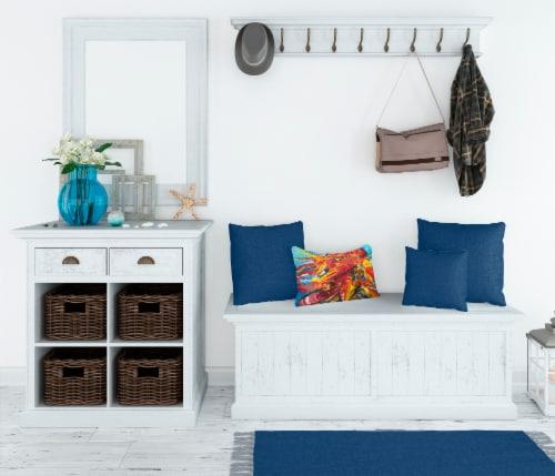 Carolines Treasures  JMK1117PW1216 Crawfish Canvas Fabric Decorative Pillow Perspective: top