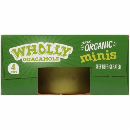 Wholly Guacamole® Organic Mild Guacamole Minis Perspective: top