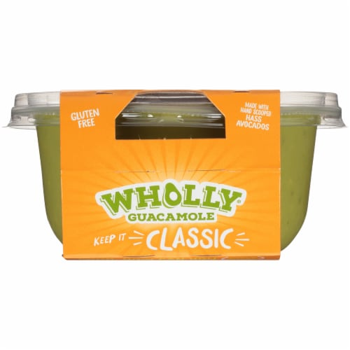 Wholly Guacamole® Classic Mild Guacamole Family Size Perspective: top