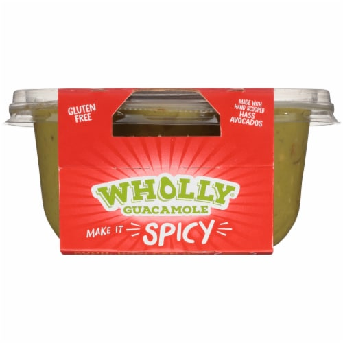 Wholly Guacamole® Spicy Hot Guacamole Family Size Perspective: top