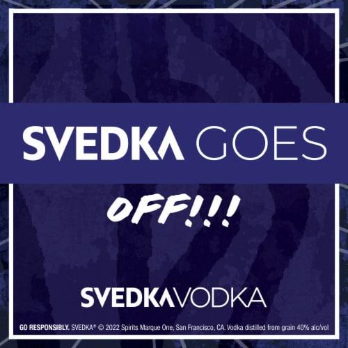Svedka Imported Swedish Vodka Perspective: top
