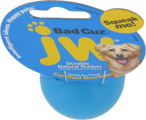 JW Small Bad Cuz Dog Toy Perspective: top