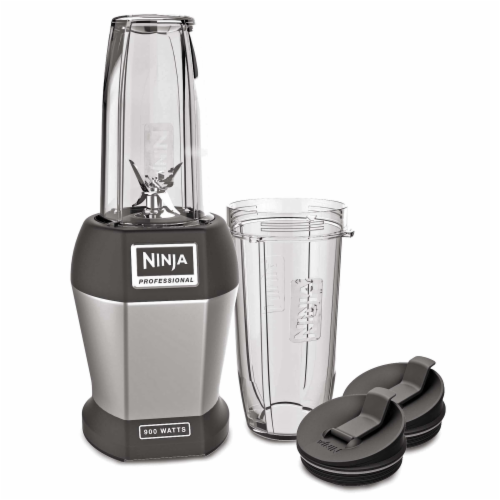 Ninja® Nutri Ninja Pro Blender - Gray/Black Perspective: top