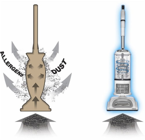 Shark® NV358 Navigator Lift Away Professional Upright Vacuum Perspective: top