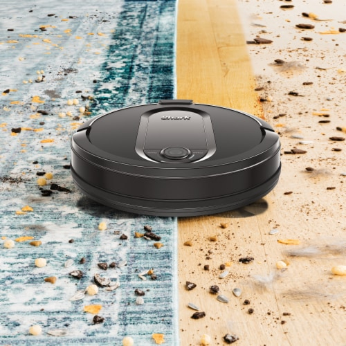 Shark® RV1001AE IQ Robot Vacuum with Self-Empty Base Perspective: top