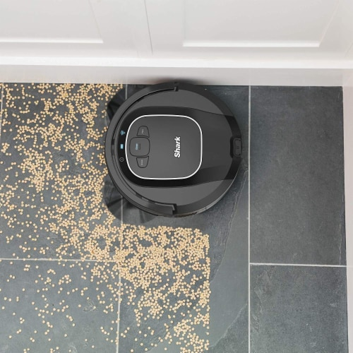 Shark® ION Robot Vacuum with Wi-Fi Perspective: top
