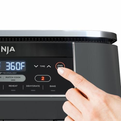 Ninja DZ201 Foodi 6-in-1 Air Fryer Perspective: top