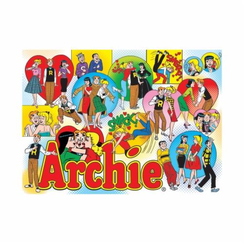 Cobble Hill Classic Archie Comics Puzzle Perspective: top
