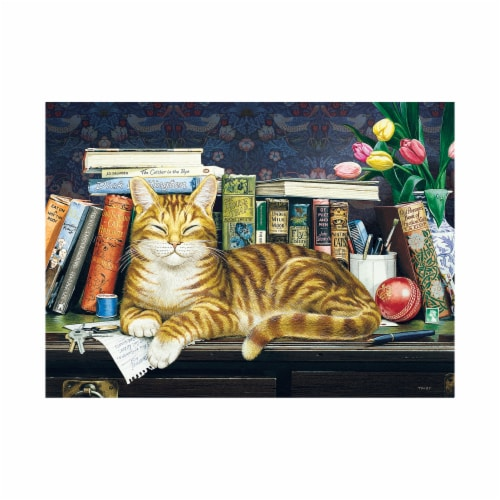 Cobble Hill Marmaduke Puzzle Perspective: top