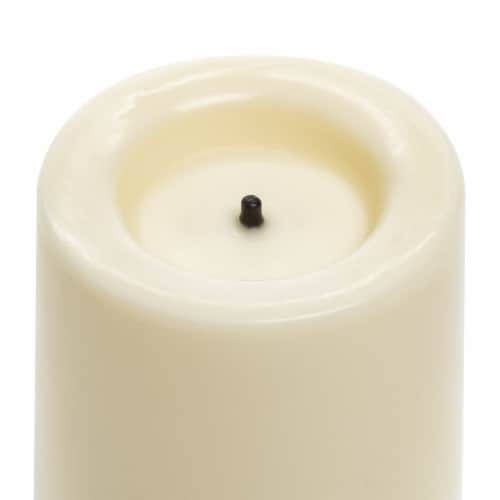 Sterno Home Flameless LED Wax Covered Votives - White Perspective: top