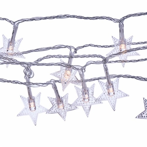 Sterno Home LED String Lights - Warm White/Clear - 2 Pack Perspective: top