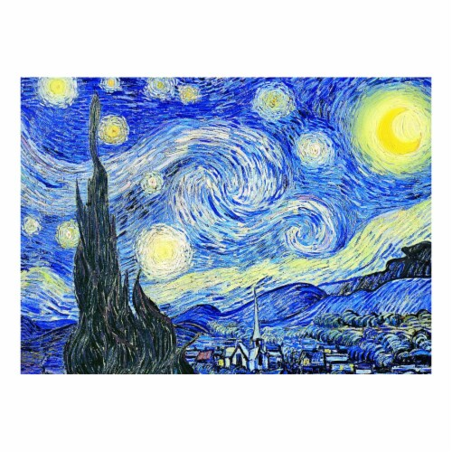 Eurographics Inc Vincent Van Gogh Starry Night Puzzle Perspective: top